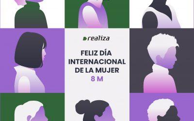 Día Internacional de la Mujer en Realiza, ¡estamos de celebración!